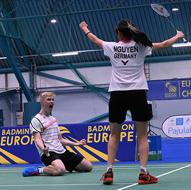 Badminton-Trio holt EM-Edel-Metall