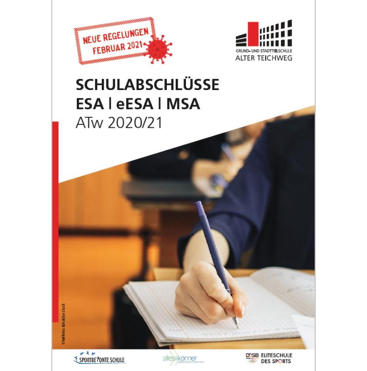 Neue Vorgaben und Regelungen für das Erreichen der Schulabschlüsse ESA / eESA / MSA