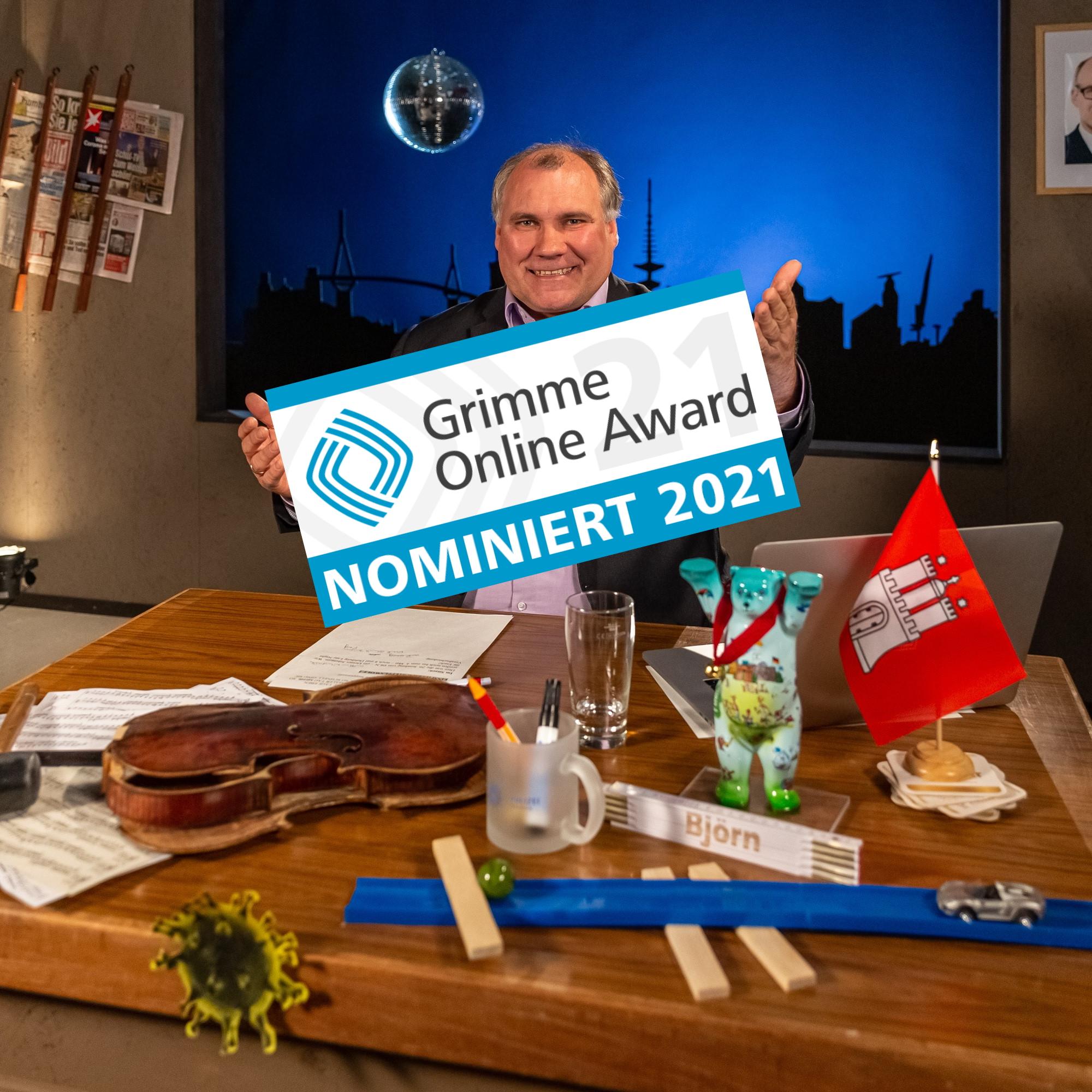 Nominierung Grimme-Preis (Online Award)
