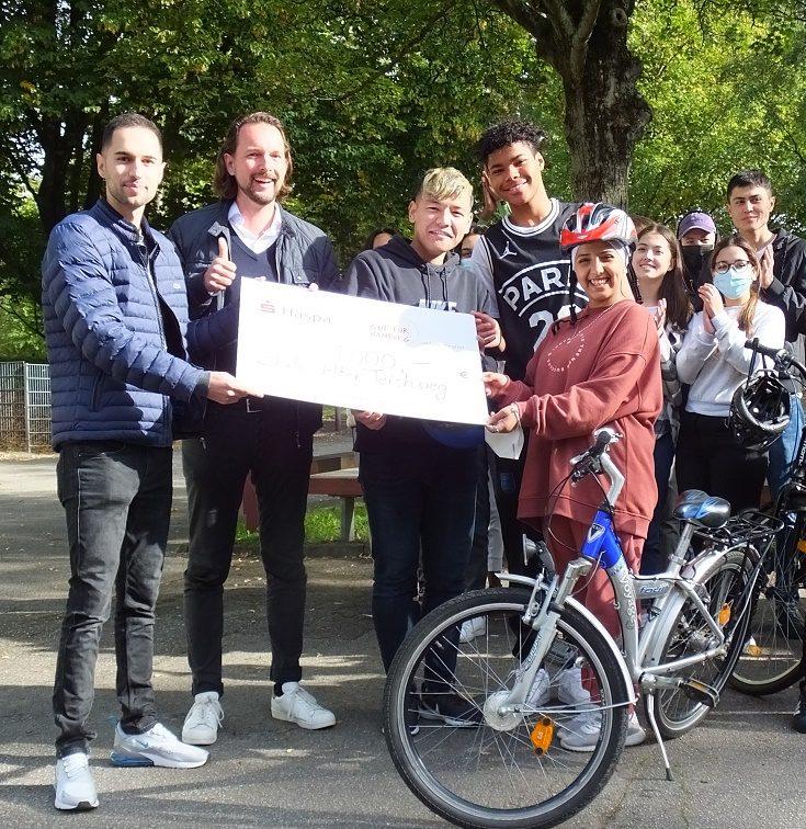 Eine echt coole Aktion bringt 1000 Euro für Fahrräder